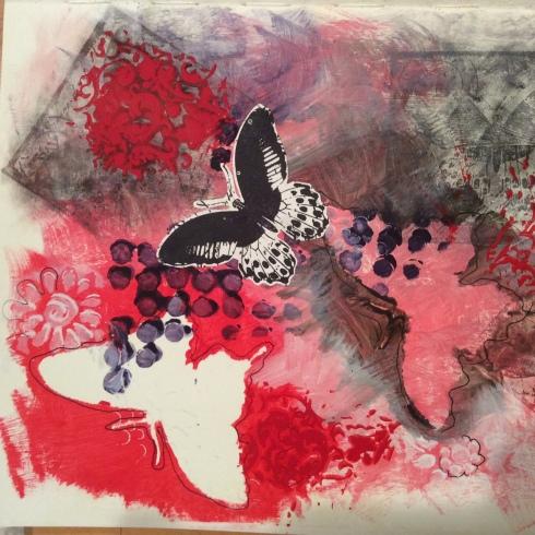 ArtJournalPage-butterflies